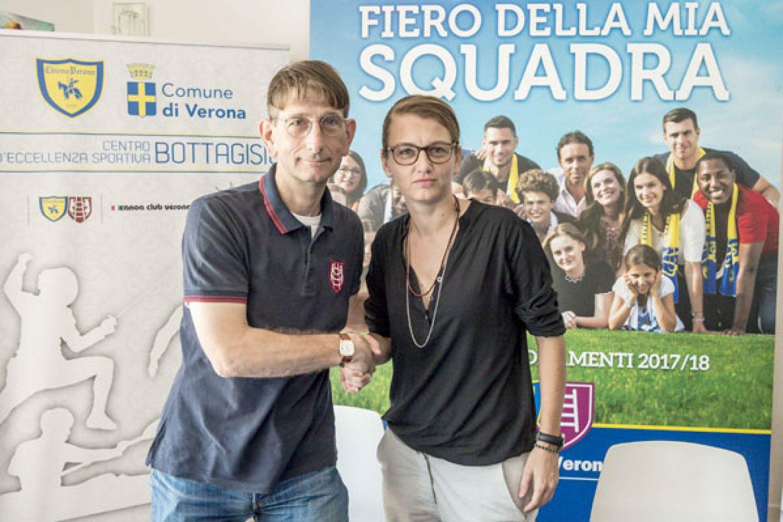 """Valpo-Chievo, prosegue la sinergia. La pres. Bonafini: """"Un giorno speciale"""""""